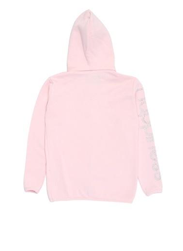 Happiness Sweatshirt Pembe